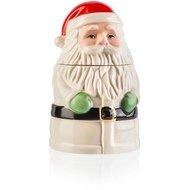 Lenox Банка для печенья Дед Мороз, 18 см