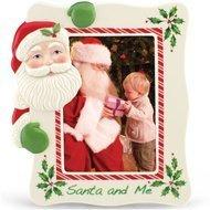 Lenox Рамка для фото Дед Мороз, 24 см