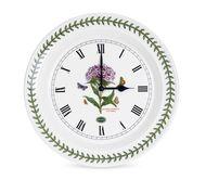 Portmeirion Часы настенные Гвоздика турецкая, 25 см