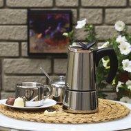 Bialetti Гейзерная кофеварка Musa (0.4 л), на 10 чашек