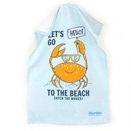 Daribo Полотенце кухонное Let's go to the beach, 50x70 см