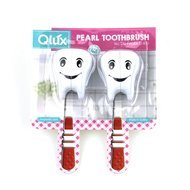 Qlux Держатель для зубной щетки Зубик, 6х4х3.5 см