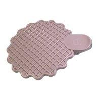 Qlux Крышка-прищепка для кружки, 11.5х9х2 см, светло-розовая