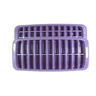 Qlux Форма для льда Twin, 26х13х5 см, фиолетовая