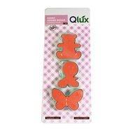 Qlux Формочки для печенья Lux, 17.5х7.5х5.5 см, 3 шт