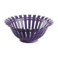 Qlux Чаша для фруктов Vogue, 30х12.5 см, фиолетовая