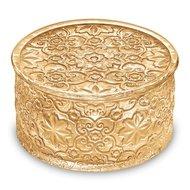 IVV Ёмкость для сладостей Arabesque, 12х7 см, золотая