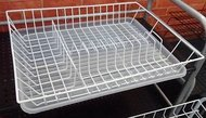 Walmer Сушилка для посуды 1-ярусная, 43.533.58 см, белая