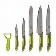 Walmer Набор ножей Vegan и овощечистка, 6 пр, в подарочной упаковке