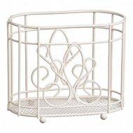 Walmer Подставка для столовых приборов Provence, 18х10х15 см, кремовая