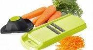 Walmer Терка для моркови по-корейски Vegan, с держателем, 32 см, в подарочной коробке