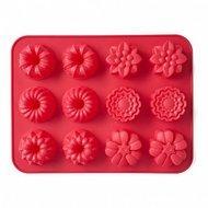 Walmer Форма для выпечки Cupcakes, 31х24х3 см, 12 кексов, красная