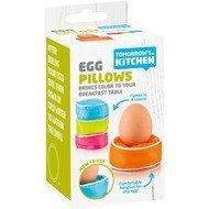 Tomorrow's Kitchen Подушечки-подставки для яиц, 13.6х6.7 см, 4 шт.