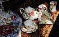 Gien Чайный сервиз Millefleurs на 12 персон, 27 пр.