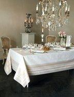 Garnier-Thiebaut Скатерть прямоугольная, 172х252 см, белая