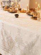 Garnier-Thiebaut Скатерть прямоугольная, 190х310 см, слоновая кость