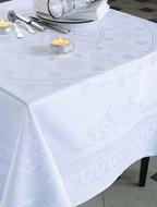 Garnier-Thiebaut Скатерть прямоугольная, 174х254 см, белая