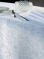 Garnier-Thiebaut Скатерть прямоугольная, 175х305 см, белая