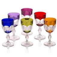 Cristal de Paris Набор бокалов для красного вина (220 мл), 16 см, 6 шт.