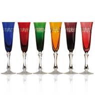 Cristal de Paris Набор бокалов для шампанского (100 мл), 24.5 см, 6 шт.