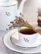 Haviland Чайный сервиз Florentine Platinum, на 6 персон, 12 пр