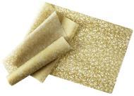 Topsale Decor Скатерть силиконовая Gold Twine, 120х36 см, золотая