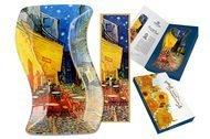 Carmani Тарелка фигурная Ночная терраса кафе (В. Ван Гог), 15х23 см