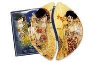Carmani Набор тарелок Поцелуй/Адель (Г. Климт), 21.5х12 см, 2 шт.