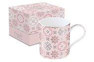 Easy Life (R2S) Кружка Изразцы (350 мл), розовая, в подарочной упаковке