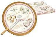 Easy Life (R2S) Блюдо для сыра Fromage, 32 см, вращающееся, с ножом, в подарочной упаковке