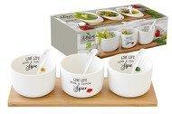 Easy Life (R2S) Набор для закуски Kitchen Elements, 7 пр, в подарочной упаковке