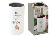 Easy Life (R2S) Подставка для ножей Kitchen Elements, 11х20 см, в подарочной упаковке
