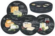 Easy Life (R2S) Набор десертных тарелок Мир сыров, 19 см, 4 шт