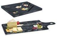 Easy Life (R2S) Доска разделочная Мир сыров, 34.5х18 см
