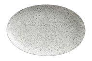 Maxwell & Williams Тарелка овальная малая Икра, 25х16 см, пепел