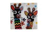 Maxwell & Williams Подставка керамическая Жирафы, 9х9 см