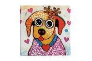Maxwell & Williams Подставка керамическая Весёлый щенок, 9х9 см