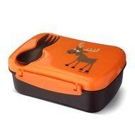 Carl Oscar Ланч-бокс детский с охлаждающим элементом N'ice Box Moose, 17х12.5х6.3 см, оранжевый