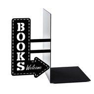 Balvi Держатель для книг BookShop, 17х10х19.5 см, черный