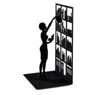 Balvi Держатель для книг The Library, 10х8.5х17 см, черный