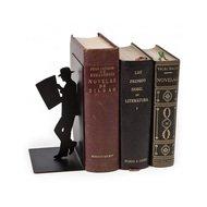 Balvi Держатель для книг The Reader, 8х10х17 см, черный
