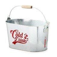 Balvi Емкость для охлаждения напитков Cold Drinks, 32х17х20 см, серебряная