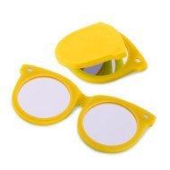 Balvi Зеркальце Shades, 7.5x6.8x0.6 см, желтое