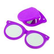 Balvi Зеркальце Shades, 7.5x6.8x0.6 см фиолетовое