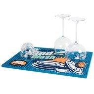 Balvi Коврик для сушки посуды Cleaner, 42х30х0.5 см, мультиколор