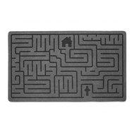 Balvi Коврик придверный Labyrinth, 70х41х0.6 см, серый