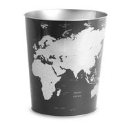 Balvi Корзина для бумаг Globe, 17.7х22х26 см, синяя