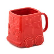 Balvi Кружка Van, 9.8х9.5х12.5 см, красная