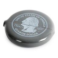 Balvi Монетница Silver Quarter, 6.5х7х1.2 см, серая