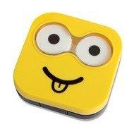 Balvi Набор для контактных линз Emoji, 6.5х6.7х2 см, желтый, 4 пр.